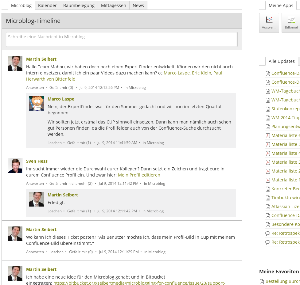 microblogging-for-confluence