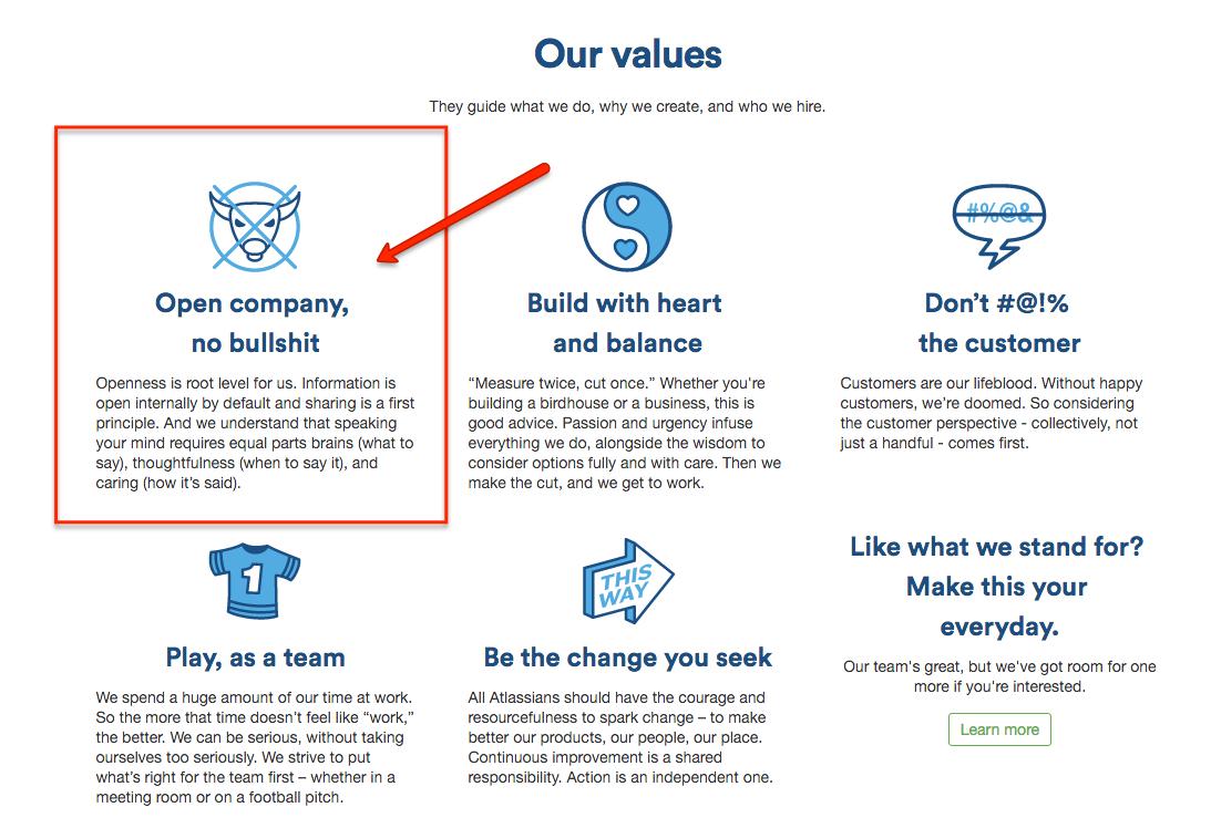 atlassian-value-open-company-no-bullshit