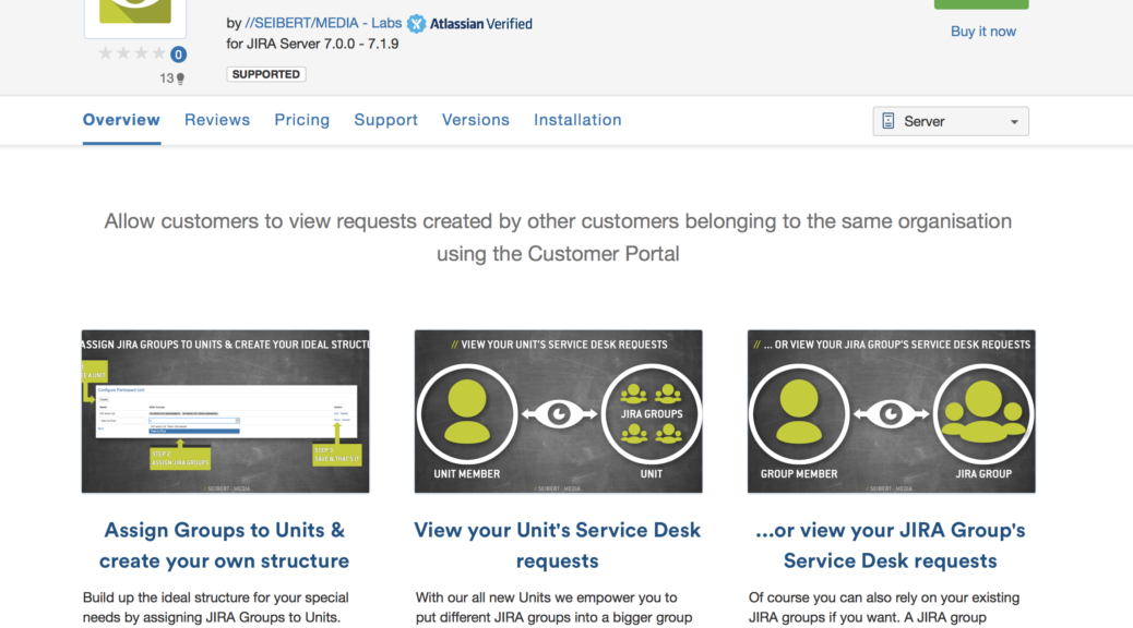 Collective Issue View for JIRA Service Desk on the Atlassian Marketplace
