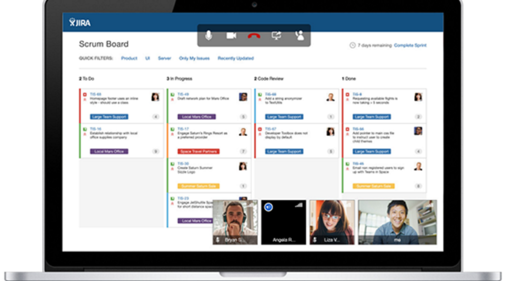 HipChat video conferencing