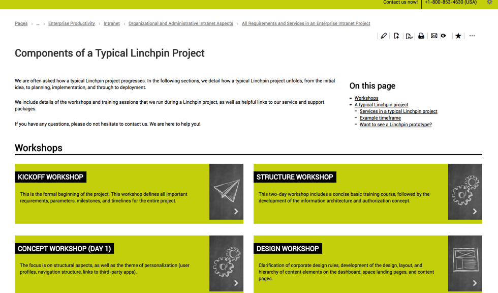Linchpin project components