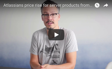 Atlassian price increase - invitation from Bastian Schmitt and //SEIBERT/MEDIA