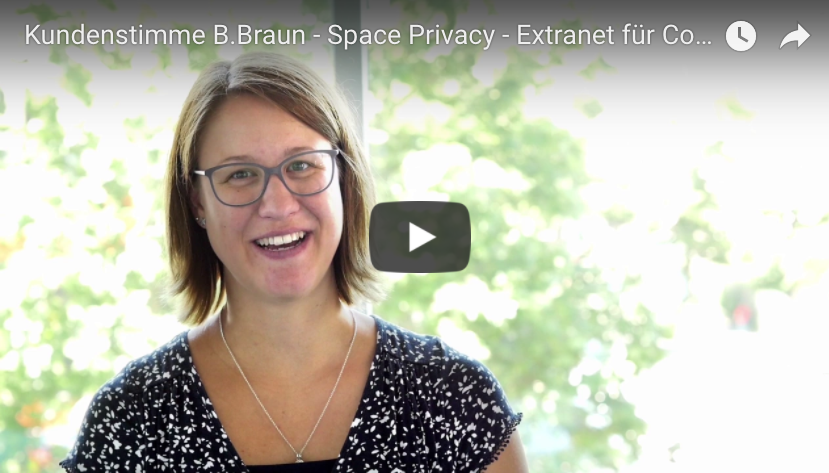 Asja Hermanns (B.Braun) about her experience with the //SEIBERT/MEDIA Plugins Space Privacy, Microblogging, Enterprise News Bundle and Custom User Profile.