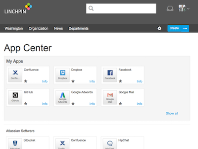 App Center for Confluence