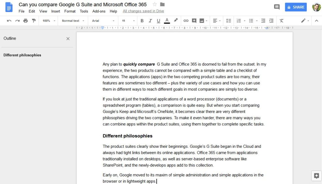 Can you compare Google G Suite and Microsoft Office 365? | News