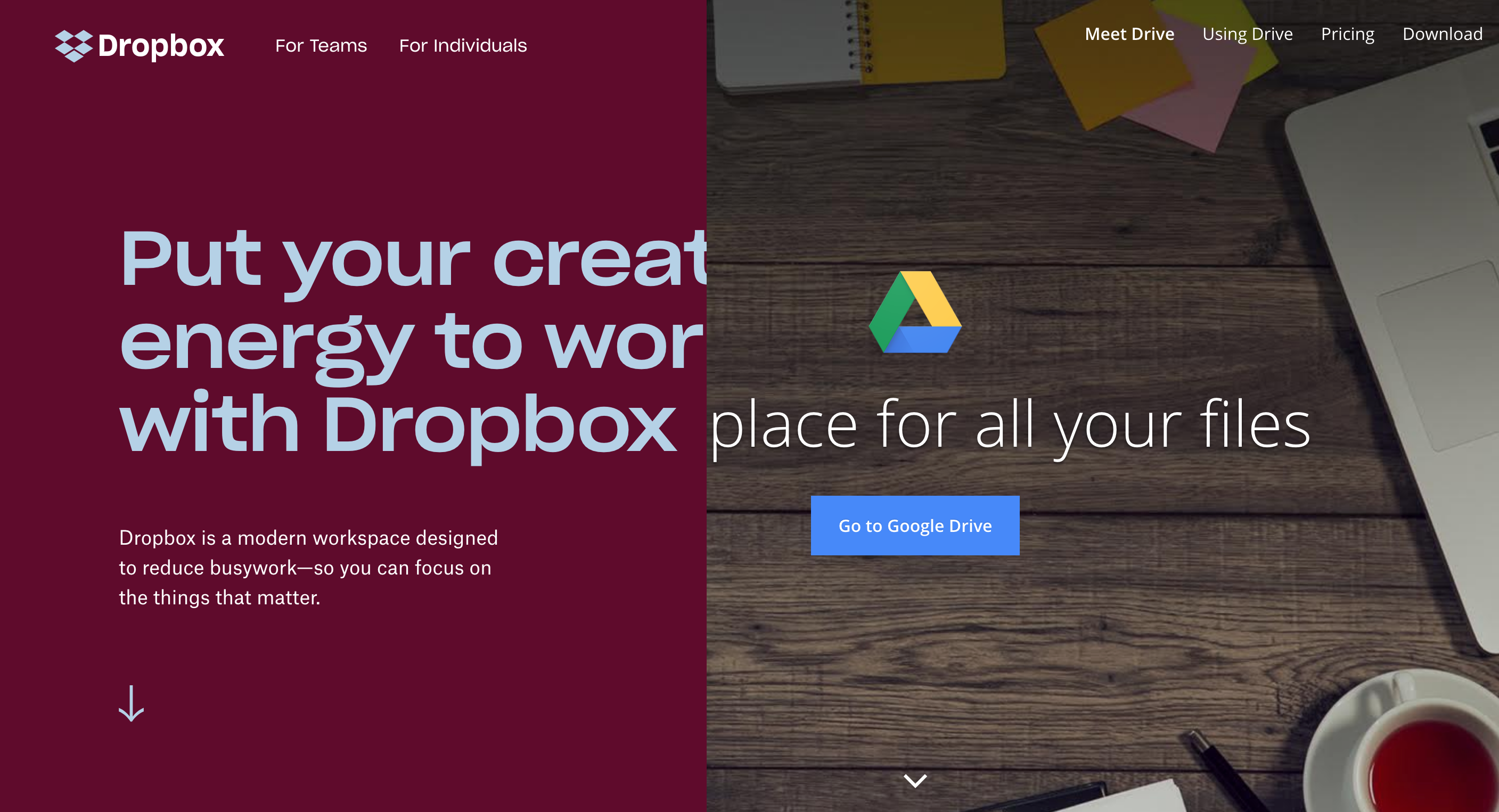 Dropbox vs  Google Drive | News, tips & guidance for agile