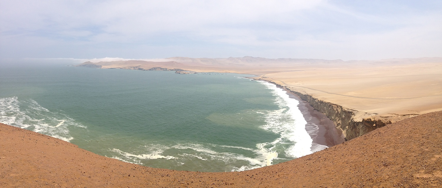 Playa Roja in Paracas National Park
