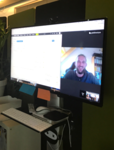 Collaborating with remote team members