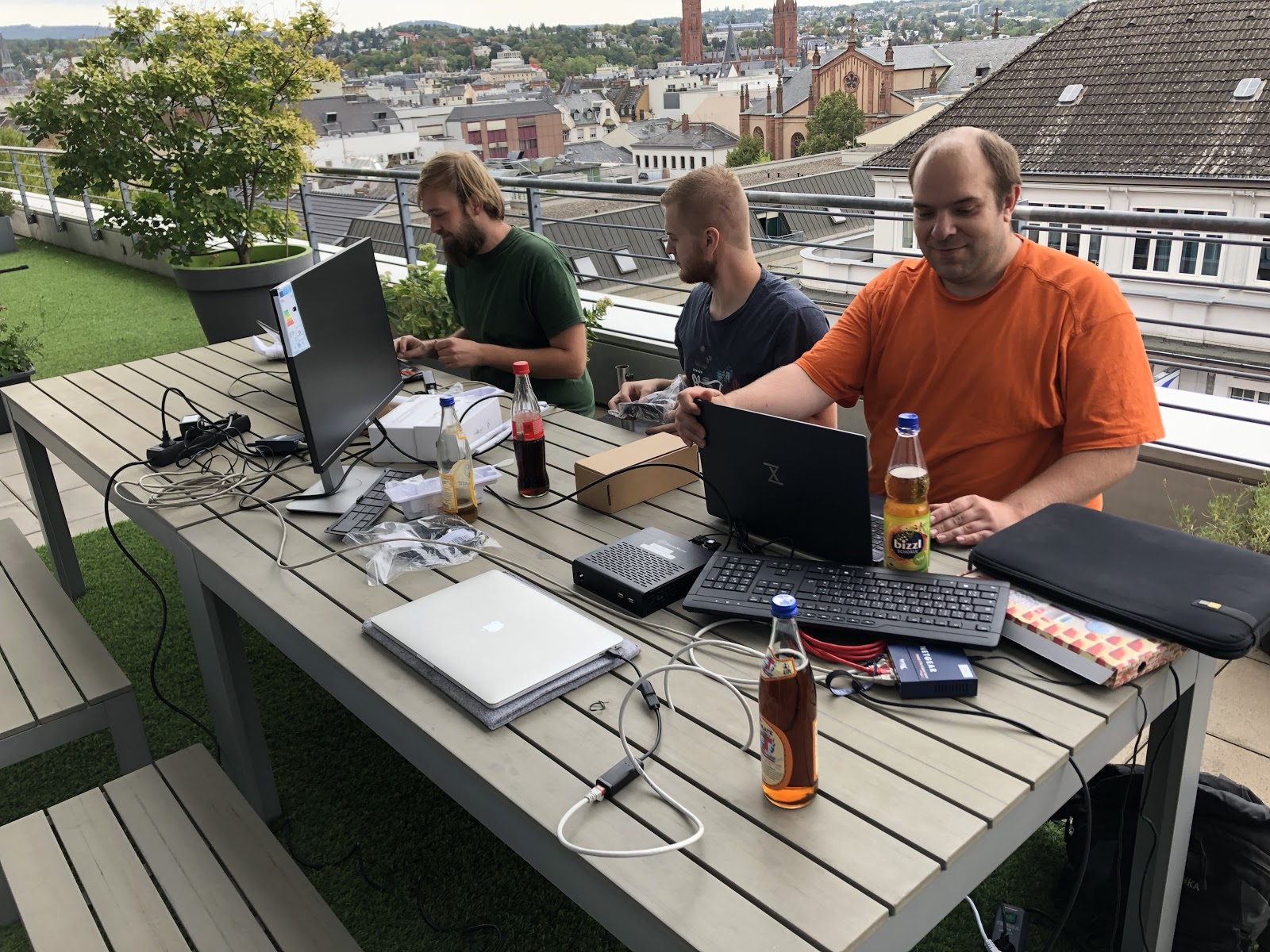 Setting up the free community Wi-Fi