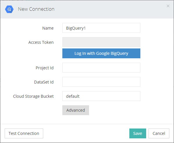 Connect with Google BigQuery.