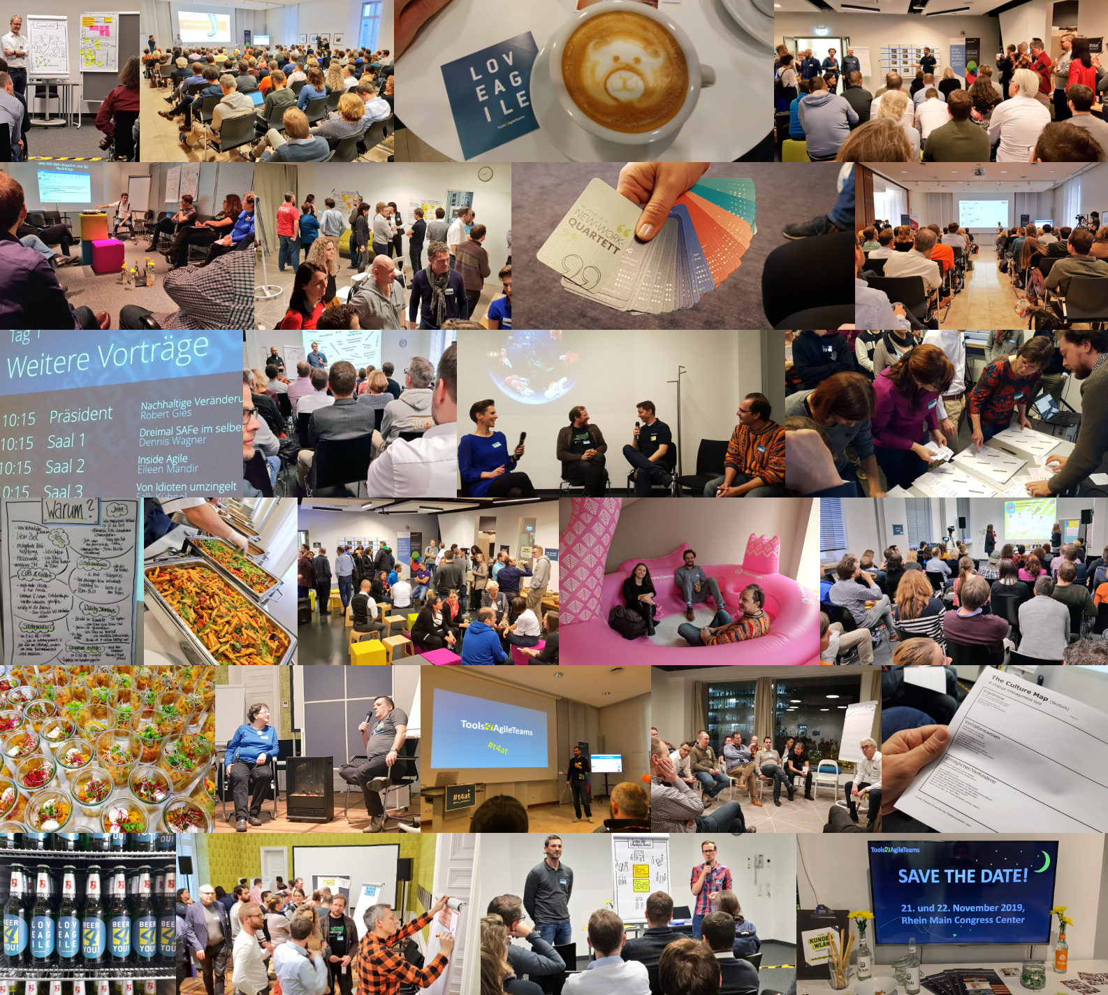 Impressions from the Tools4AgileTeams 2018 conference
