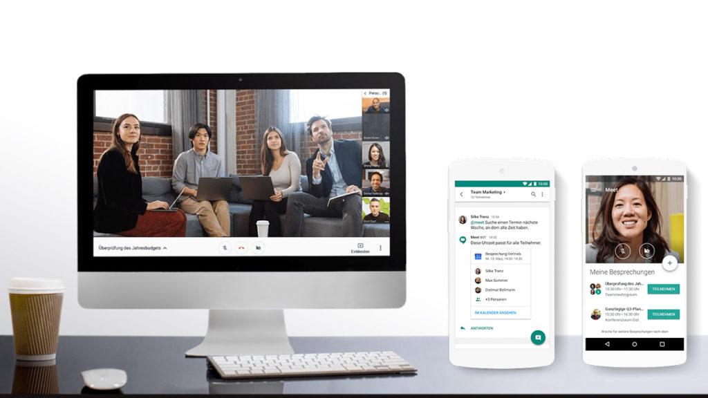 Google G Suite Hangouts Meet