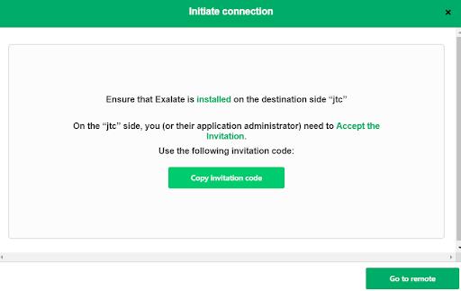 Invitation code prompt