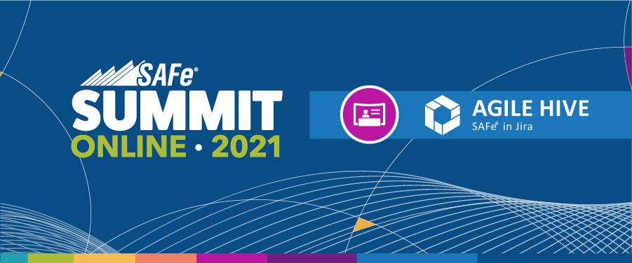 Banner Global SAFe Summit Agile Hive Sponsor